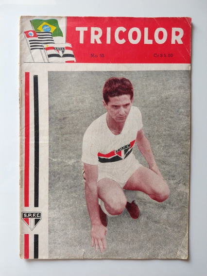 Antiga E Rara Revista Do São Paulo Nº 53 - Tricolor (1093)