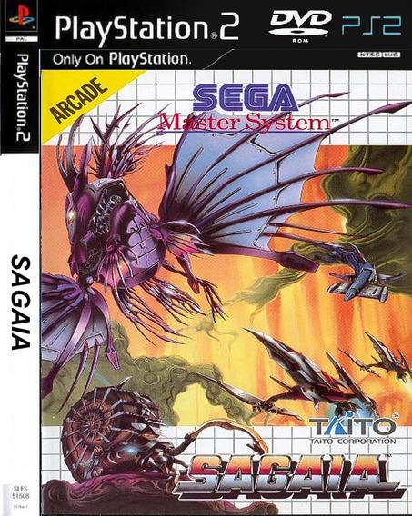 Sagaia - Playstation 2 - Ps2 - Jogo De Nave - Frete 9 Reais