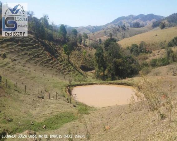 Excelente Terreno Com 30.400 M, Rico Em Água, Com Lago E Cachoeira Localizado Em Socorro/sp; - 569 - 34064541