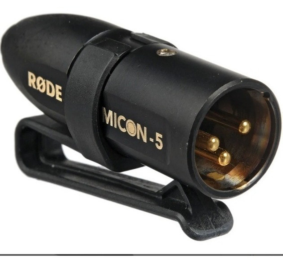 Conector Micon-5 Para Dispositivos Xlr De 3 Pinos - Rode