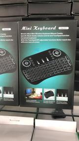 Teclado Via Bluetooth Para Tv,tv Box,notebook. Com Iluminaçã