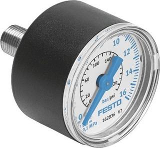 Manómetro Medidor De Presión Aire - Festo - Ma-40-16-1/8