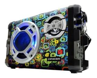 Parlante Portatil Panacom Sp-3046 Bluetooth Karaoke