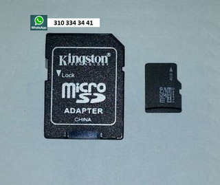 Micro Sdhc 4 Gb Clase 4 Flash Memory Card Sdc4