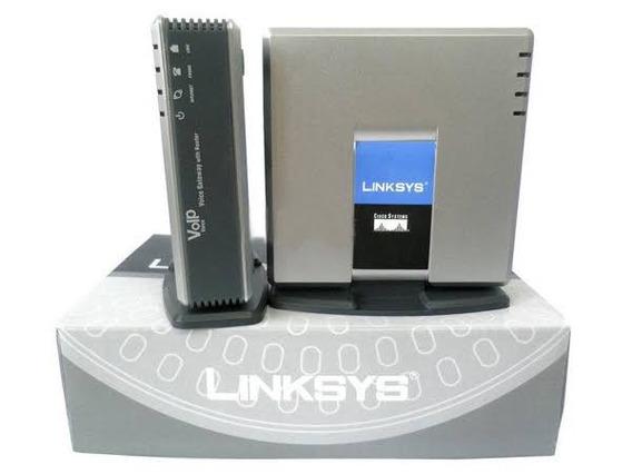Ata 2 Portas - Fxs Cisco Linksys Pap2t Voip Entrega Imediata