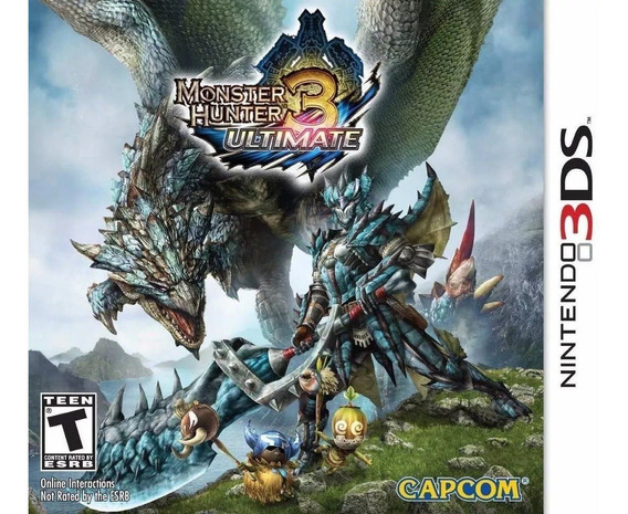Nintendo 3ds Monster Hunter 3 Ultimate