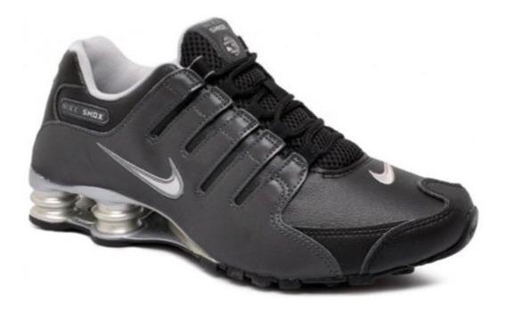 Tenis Nike Shox Nz Silver (100% Original Y Nuevos)