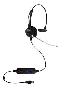 Headset Htu-310 Usb