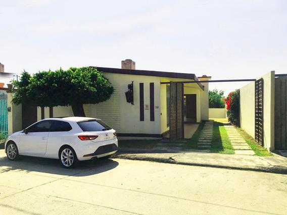 Bonita Casa Un Piso En Fraccionamiento Privado Con Seguridad