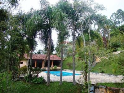 Bela Chácara 5016m²at 320m²ac Completa Arujá-santa Isabel - Ch0006
