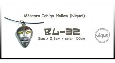 Colar Máscara Ichigo Hollow (níquel)
