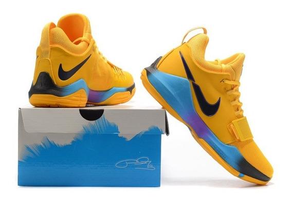 Tênis Pg 1 Shoes Yellow Gladiator Og Importado Basketball