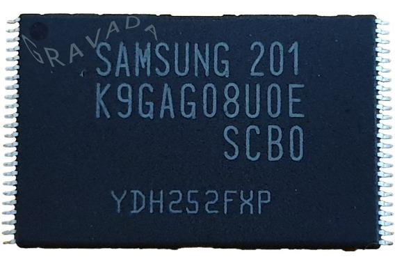 3 Memórias Flash Nand Samsung D5500 Original Gravada