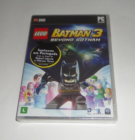 Lego Batman 3: Beyond Gotham Original Lacrado M. Física Pc