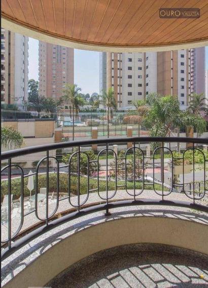 Alugo Apartamento - Inteiro Mobiliado - 120m² - 3 Suites - 4 Vagas - Lazer Completo- Prox Shopping Analia Franco - Ap0869
