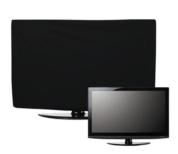 Capa Para Tv 55 Polegadas Led Lcd Com Abertura Traseira