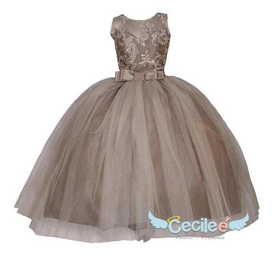 Hermoso Vestido Elegante De Ceremonia Niña Victoria