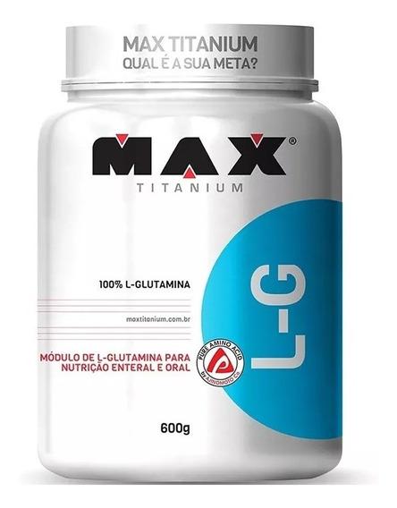 L-glutamina / Glutamine - 600g - Max Titanium