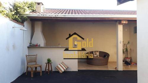 Casa Com 4 Dormitórios À Venda, 112 M² Por R$ 265.000 - Jardim Florestan Fernandes - Ribeirão Preto/sp - Ca0895