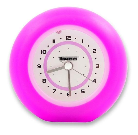 Reloj Despertador De 9.5 Cm Rd-907-r