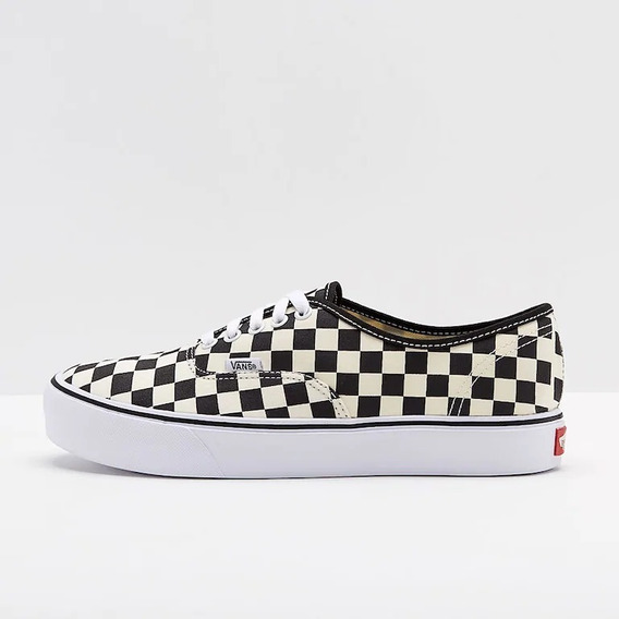 Tenis Vans Authentic Lite Checkerboard Black/white