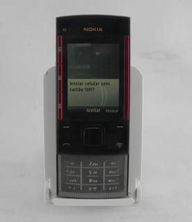 Celular Nokia X30 0 Vivo Raridade Flip Preto/vermelho -usado
