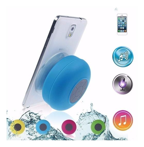 Caixa Som Banheiro Prova Dágua Bluetooth Samsung iPhone