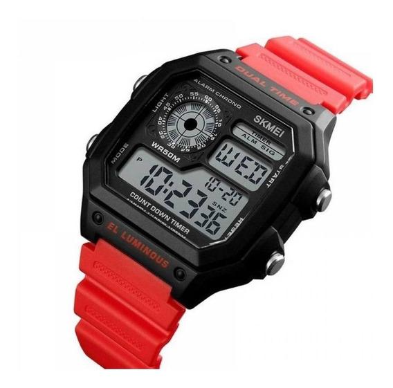 Relógio Masculino Skmei 1299 Digital Esportivo Prota Entrega