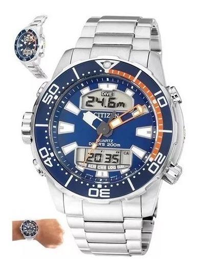 Relógio De Pulso Promaster Aqualand Tz10164f Citizen