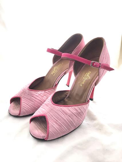 Zapatos Sandalias De Tango Darcos Magicshoes Hecho A Mano 37