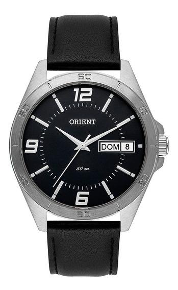 Relógio Orient De Couro Mbsc2012 P2px