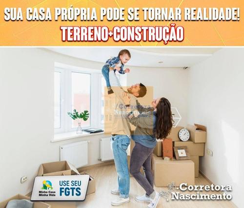 Imagem 1 de 6 de Ótimo Terreno À Venda, Para Aquisição E Construção, 178 M² Por R$ 67.000 - Chácaras Reunidas Igarapés - Jacareí/sp - Te0512