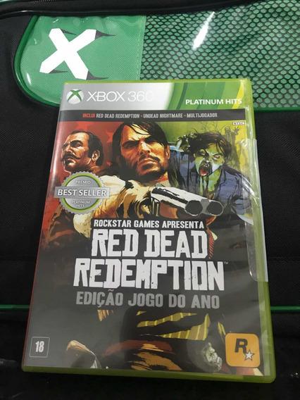 Red Dead Redemption Edição Jogo Do Ano Xbox 360