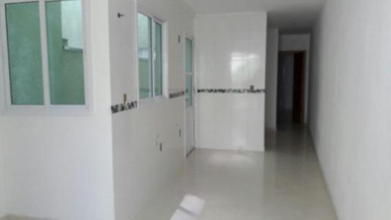 Apartamento Sem Condomínio 51m², 2 Dormitórios, Suíte, 2 Vagas, Jardim Santo Antônio, Santo André. - Ap0923