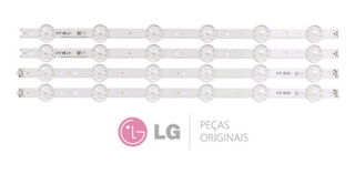 Kit Barras De Led Lg 49uj6525 49uj6565 Barra Nova Original