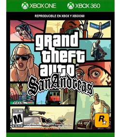Grand Theft Auto: San Andreas Xbox 360 & Xbox One Lacrado