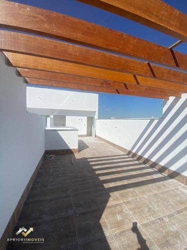 Cobertura Com 2 Dormitórios À Venda, 53 M² Por R$ 307.000,00 - Vila Alzira - Santo André/sp - Co0425