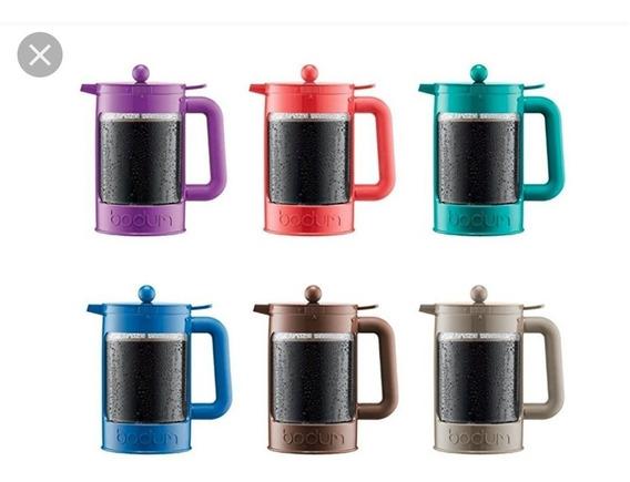 Prensa Francesa Cafetera Bodum Plastico Cafe Frio Ice Coffee
