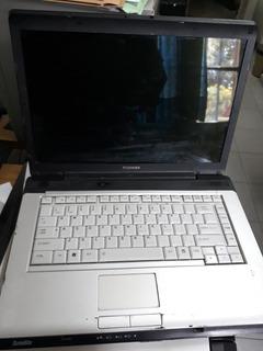 Notebook Toshiba A 205 No Levanta Video. Completa Con Cargad