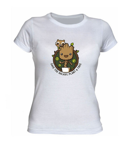 Remera Bebe Groot Coleccion 2 Firefly