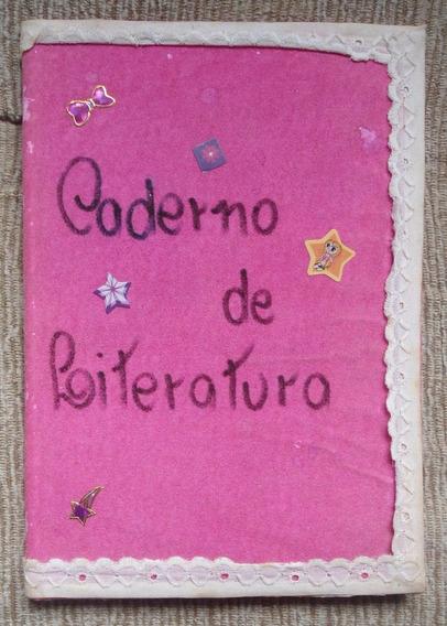 Caderno De Poesias Escritas A Mão De Diversos Autores