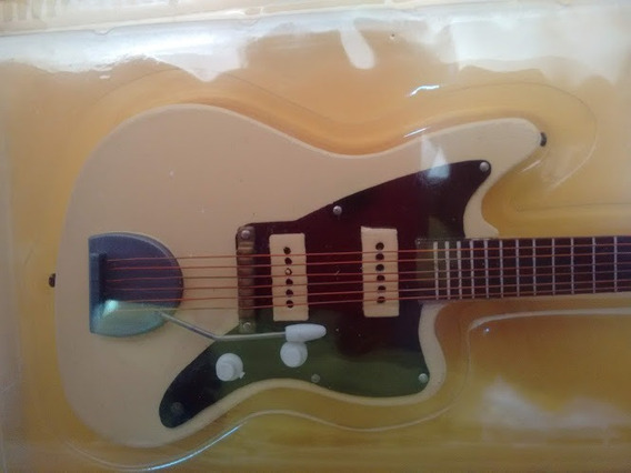 Miniatura Guitarra Jazz Suave Rock Salvat Guitar 34