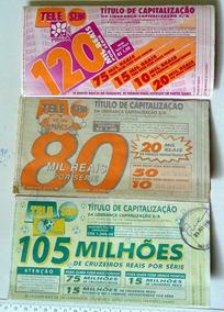 3 Telesenas Antigas - 1 De 1994 - 2 De 1995 Para Coleção Lt1