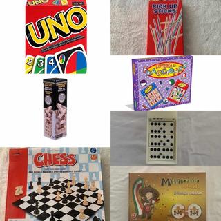 Paquete Jenga 7 Juegos De Mesa Varios Juegos Oferta