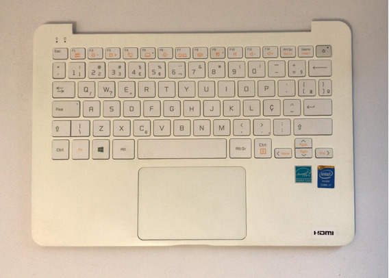 Teclado C/ Touchpad Lg Lg13z940 Series Abnt2