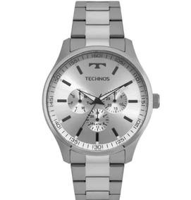 Relógio Technos Classic Steel Masculino 6p29ajo/1k