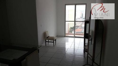 Apartamento Com 3 Dormitórios Para Alugar, 88 M² Por R$ 1.100,00/mês - Butantã - São Paulo/sp - Ap6491