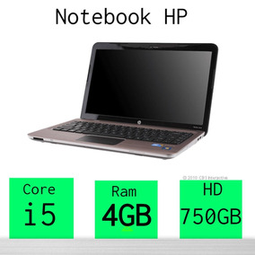 Notebook Hp Core I5 750gb 4gb