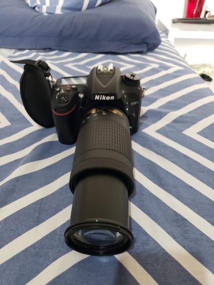 Kit Câmera Fotográfica Nikon D7200 + Lente E Acessórios