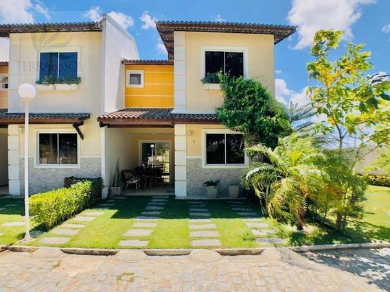 Casas Duplex Em Condomínio Fechado Com Lazer Completo E Preço Imbatível! - Ca0925